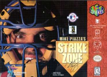 Mike Piazza's StrikeZone - N64 - Used