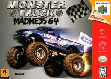 Monster Truck Madness 64 - N64 - Used