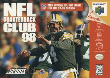 NFL Quarterback Club '98 - N64 - Used