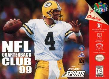 NFL Quarterback Club '99 - N64 - Used