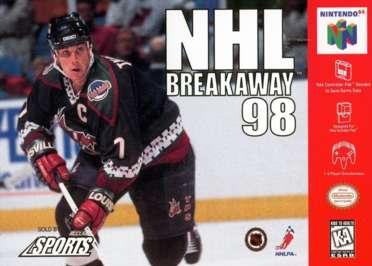 NHL Breakaway '98 - N64 - Used