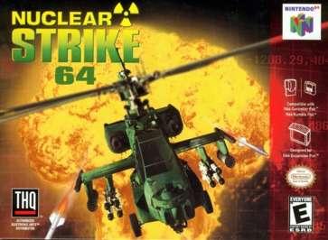 Nuclear Strike - N64 - Used