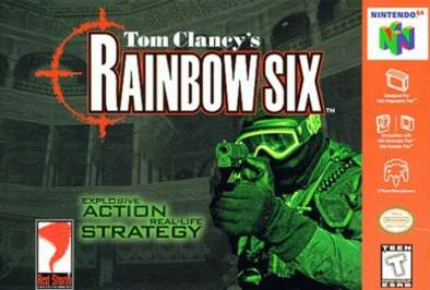 Rainbow 6 - N64 - Used