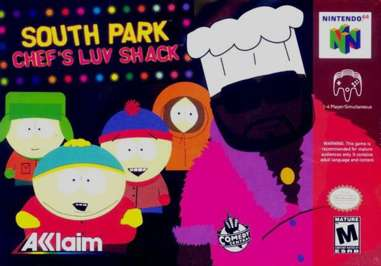 South Park: Chef's Luv Shack - N64 - Used