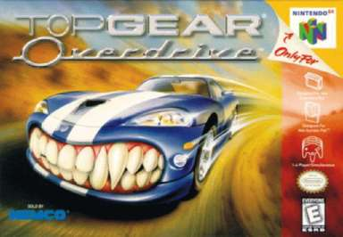 Top Gear Overdrive - N64 - Used