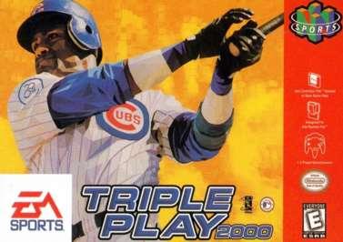 Triple Play 2000 - N64 - Used
