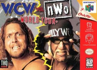 WCW vs. NWO: World Tour - N64 - Used