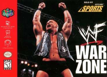 WWF Warzone - N64 - Used