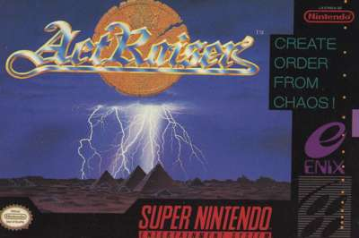 ActRaiser - SNES - Used