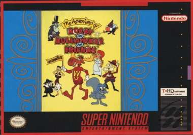 Adventures of Rocky and Bullwinkle and Friends - SNES - Used
