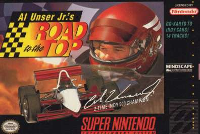 Al Unser Jr's Road to the Top - SNES - Used