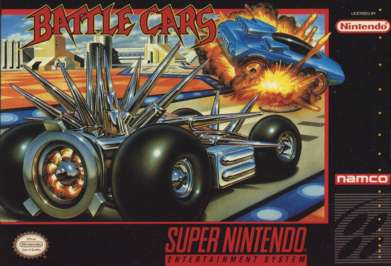 Battle Cars - SNES - Used