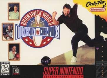Brunswick World Tournament of Champions - SNES - Used
