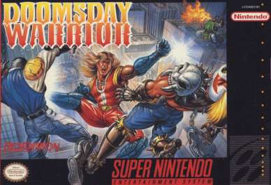 Doomsday Warrior - SNES - Used
