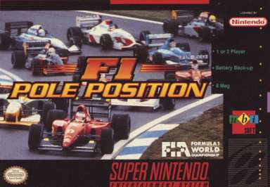 F1 Pole Position - SNES - Used