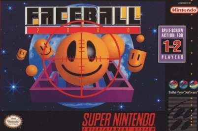 Faceball 2000 - SNES - Used