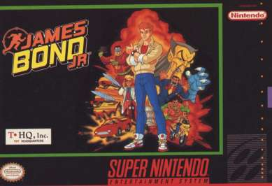 James Bond Jr. - SNES - Used