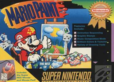 Mario Paint - SNES - Used