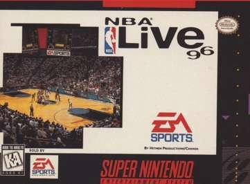 NBA Live '96 - SNES - Used