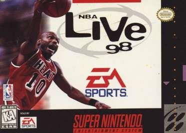 NBA Live '98 - SNES - Used