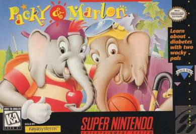 Packy and Marlon - SNES - Used