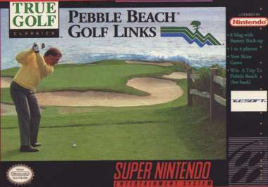Pebble Beach Golf Links - SNES - Used