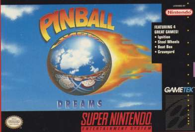 Pinball Dreams - SNES - Used