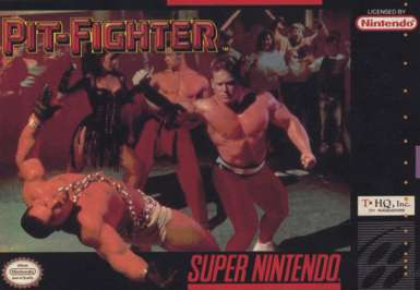 Pit-Fighter - SNES - Used