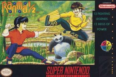 Ranma 1/2: Hard Battle - SNES - Used