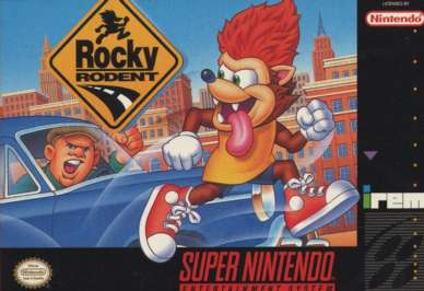 Rocky Rodent - SNES - Used