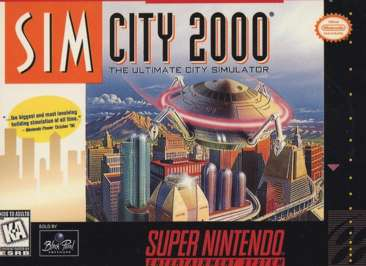 SimCity 2000 - SNES - Used