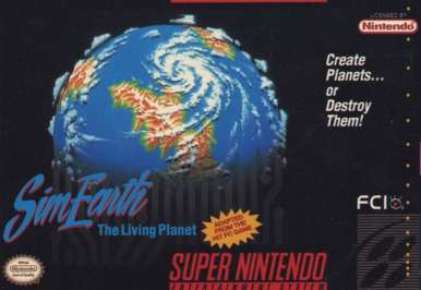SimEarth: The Living Planet - SNES - Used