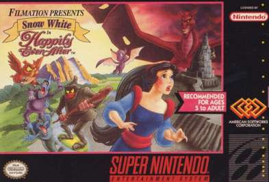 Snow White in Happily Ever After - SNES - Used
