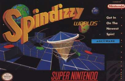 Spindizzy Worlds - SNES - Used
