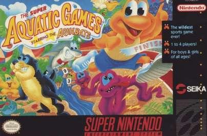 Super Aquatic Games - SNES - Used