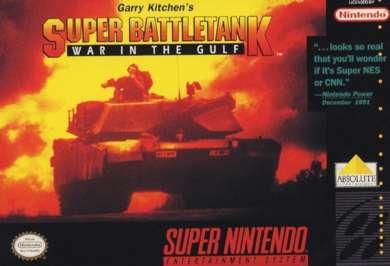 Super Battletank: War in the Gulf - SNES - Used