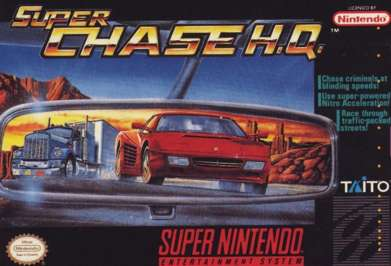 Super Chase H.Q. - SNES - Used