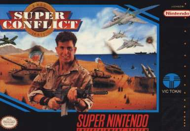 Super Conflict - SNES - Used
