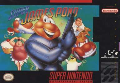 Super James Pond - SNES - Used