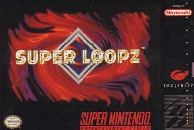 Super Loopz - SNES - Used