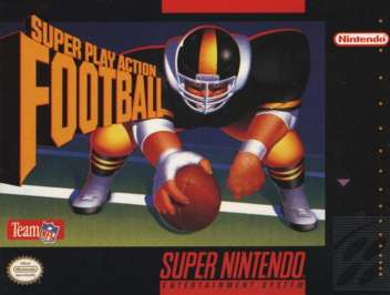 Super Play Action Football - SNES - Used
