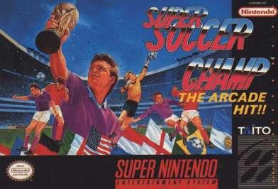 Super Soccer Champ - SNES - Used
