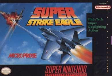 Super Strike Eagle - SNES - Used