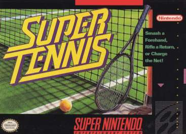 Super Tennis - SNES - Used