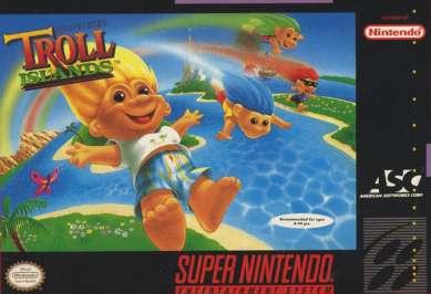 Super Troll Islands - SNES - Used