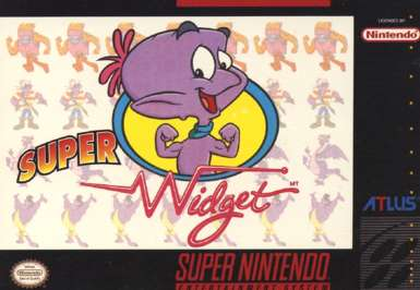 Super Widget - SNES - Used