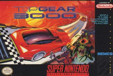 Top Gear 3000 - SNES - Used