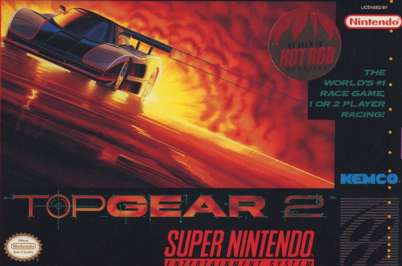 Top Gear II - SNES - Used
