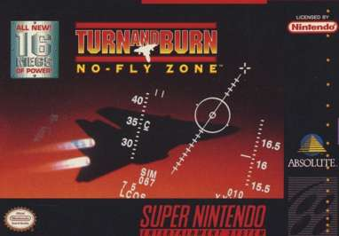 Turn and Burn: No-Fly Zone - SNES - Used