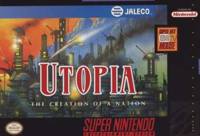 Utopia: Creation of a Nation - SNES - Used